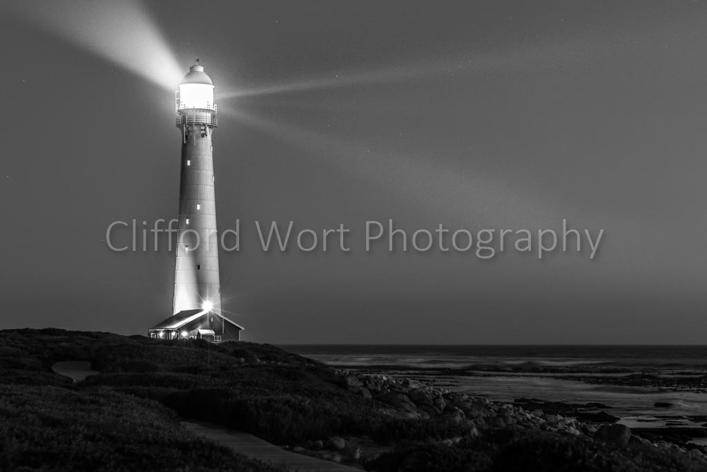 Lighthouse 5 Black and White - Clifford Wort Photography